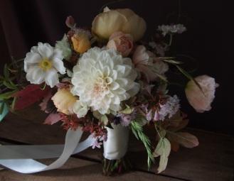 dahlias and icelandic poppies